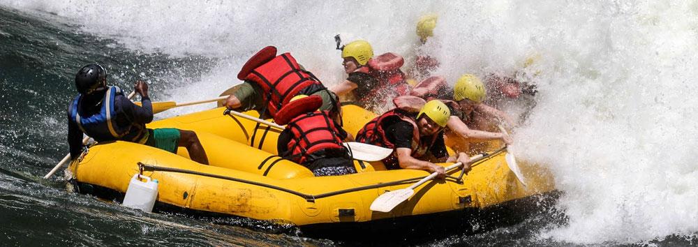 zambezi river rafting overnight trips