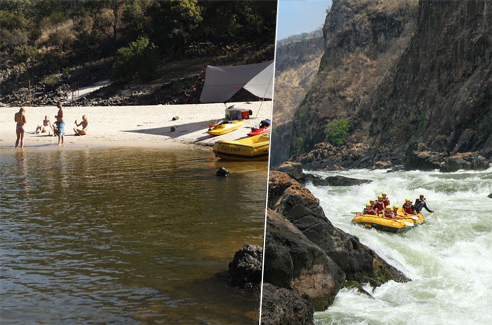 Rafting Overnight Trip – Zambezi River Rafting Special Offer