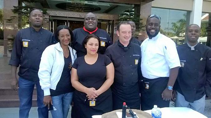 David Livingstone Safari Lodge & Spa – the best chefs in Zambia!!