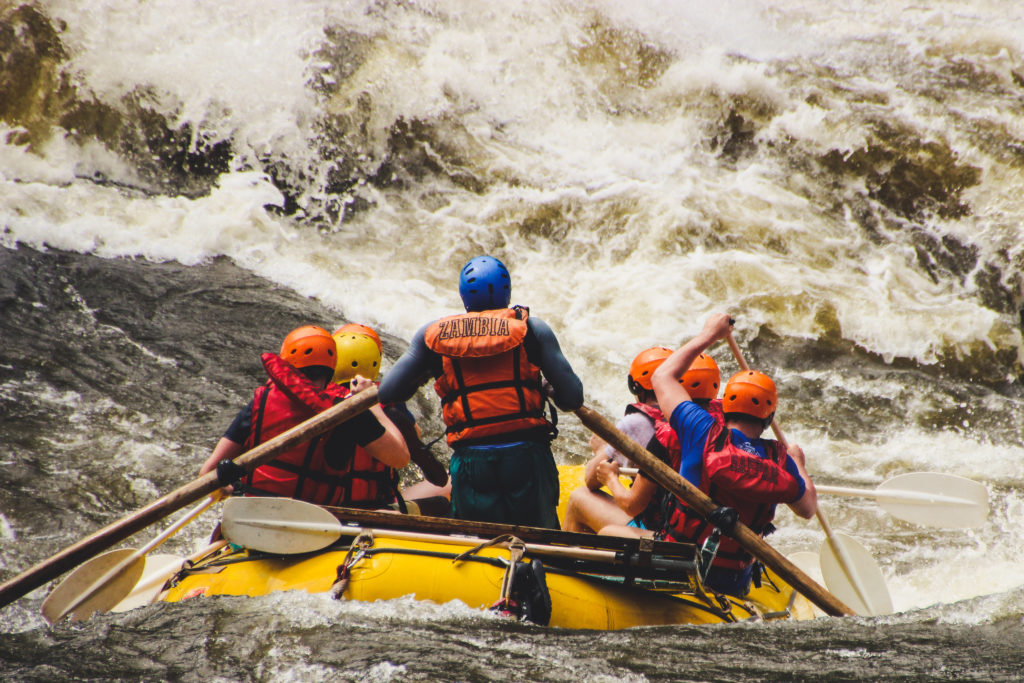 Rafting, Zambezi, White Water, rapid