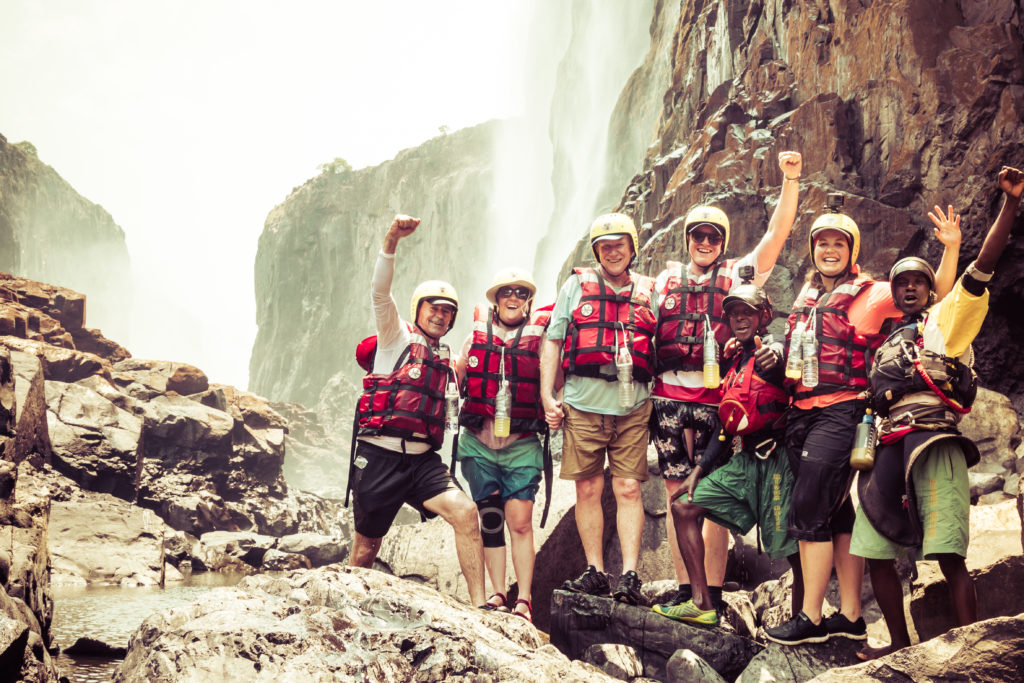Victoria Falls, rafting crew, Zambezi