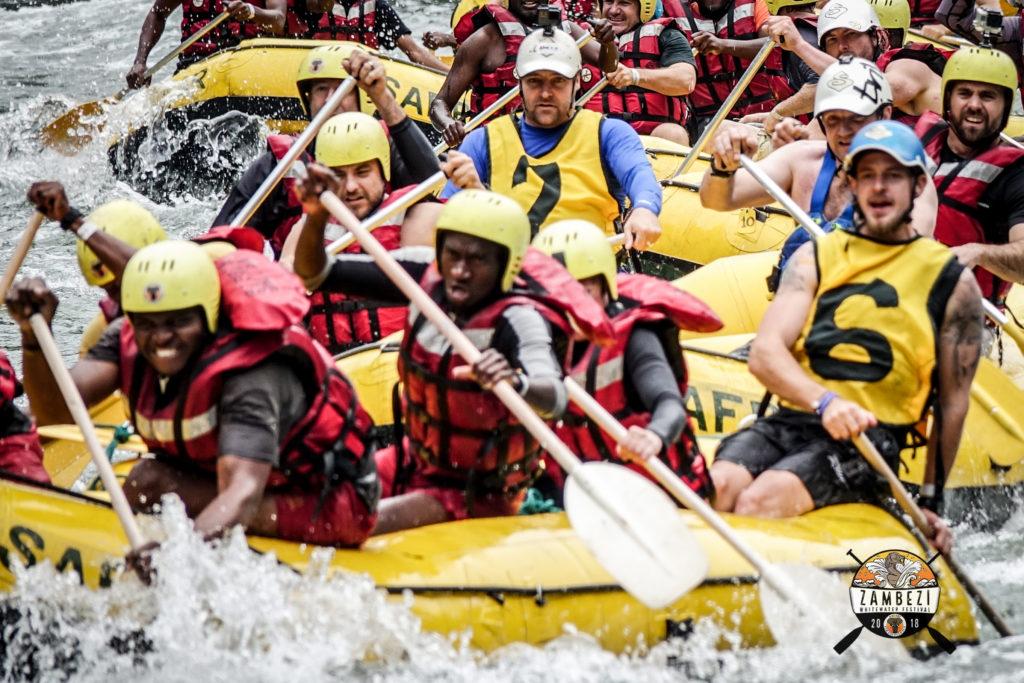 Zambezi River Rafting.