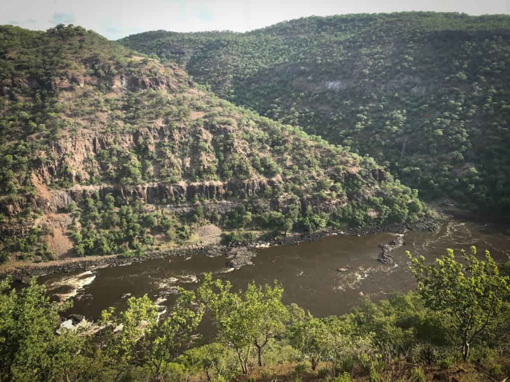 Batoka HES, dam site, Zambezi