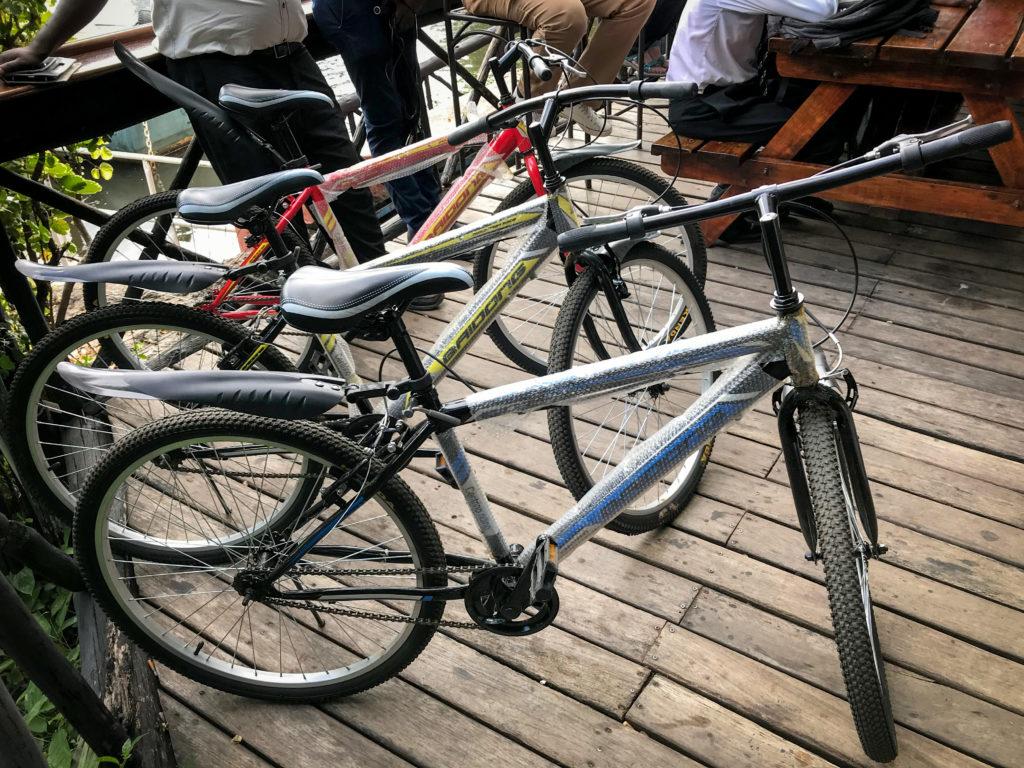 Bicycles Tour d'Afrique Livingstone Zambia Victoria Falls