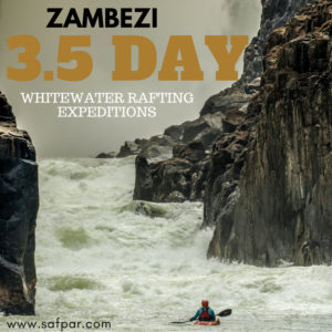 Zambezi, Victoria Falls, 3.5-day rafting expedition-what you need to know.