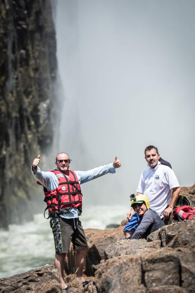 Below Victoria Falls