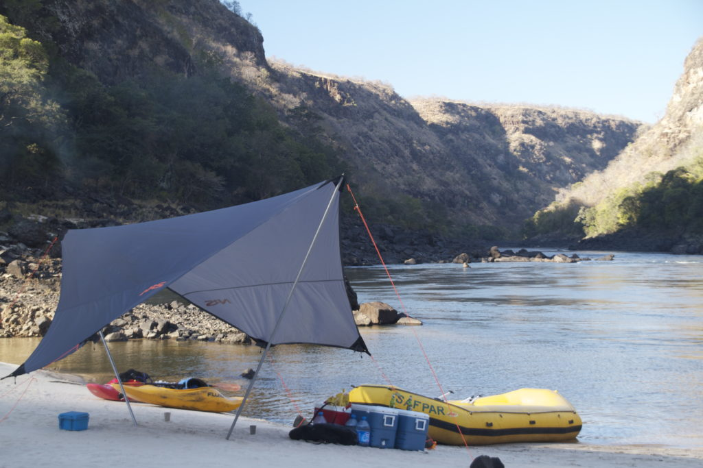 safpar multi-day Zambezi river rafting