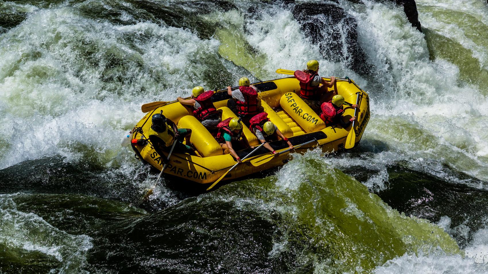 Riding the wild waters: Zambezi White Water Festival 2018
