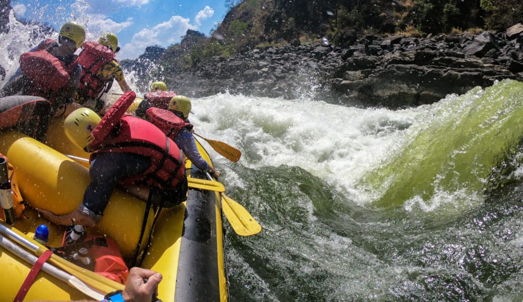 safpar multi-day zambezi river rafting