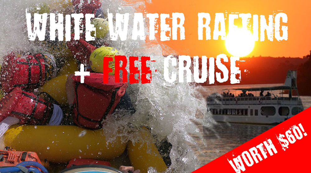 safpar free cruise with white water rafting